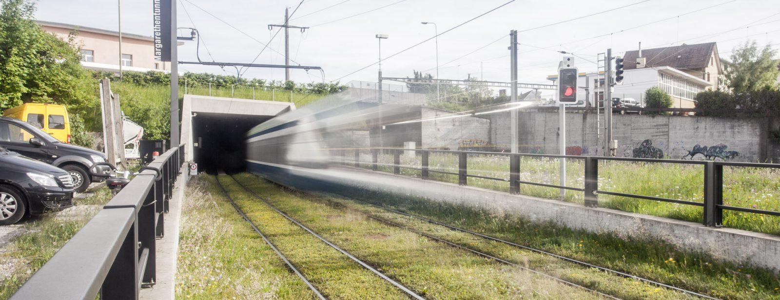 Margarethentunnel Glattalbahn, Zürich