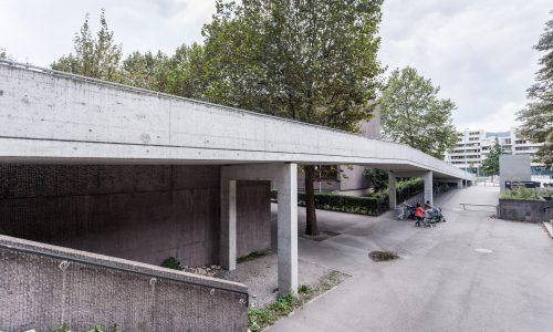 Hardau II, Fussgängerstege, Zürich
