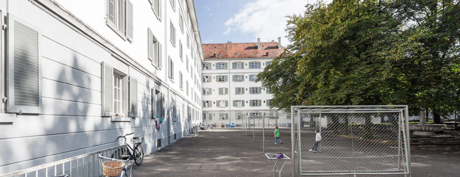 Sanierung Wohnsiedlung Zurlinden, Zürich