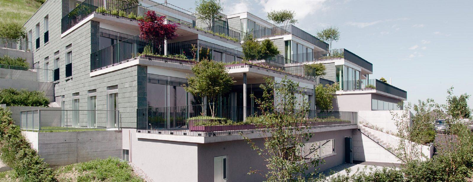 MFH Terrassenhäuser, Schindellegi