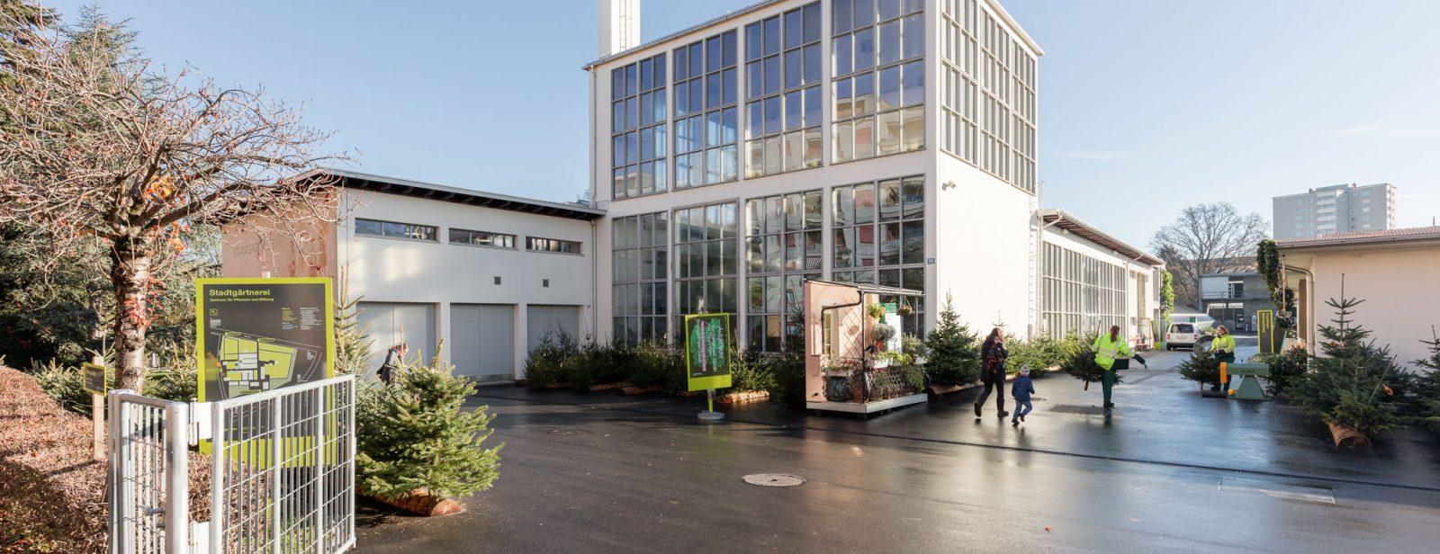 Instandsetzung Stadtgärtnerei, Zürich