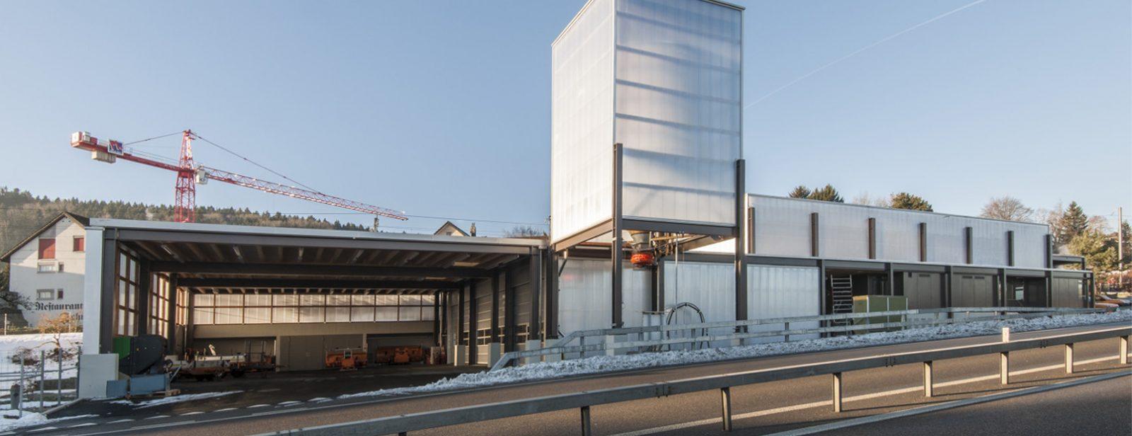 Umbau Werkhof, Forch