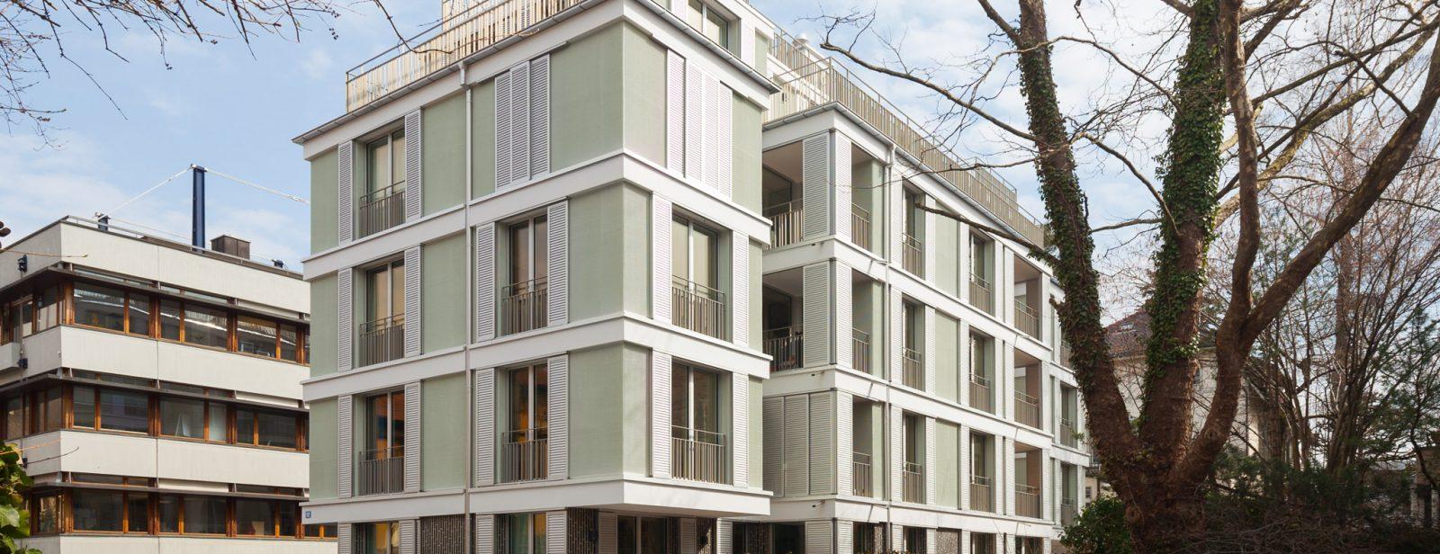 Neubau MFH Schmelzbergstrasse 52, Zürich