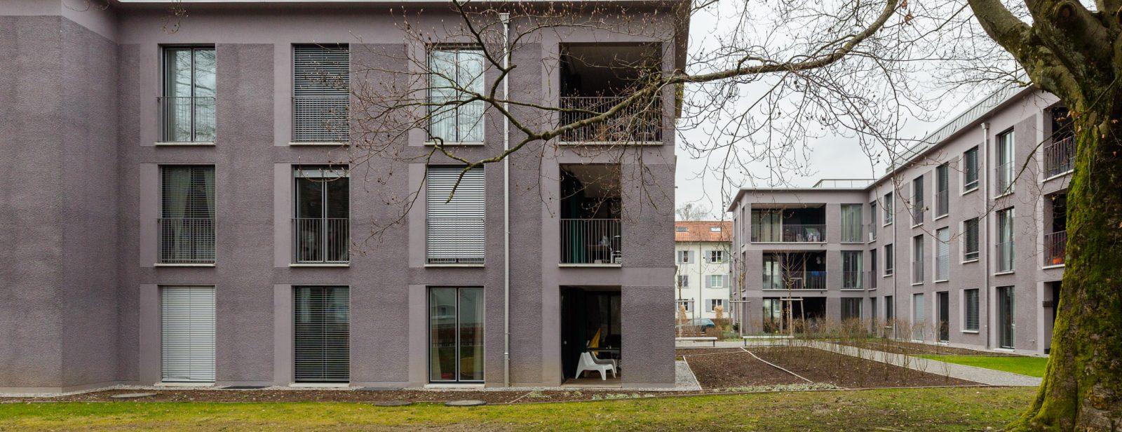 Wohnüberbauung Wart- / Aeckerwiesenstrasse, Winterthur