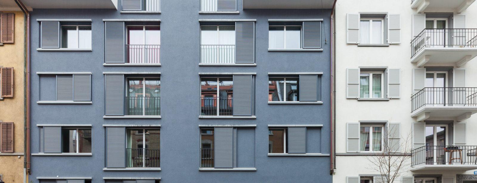 MFH Weststrasse 53, Zürich