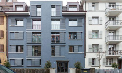 Mehrfamilienhaus in der Weststrasse 53, Zürich