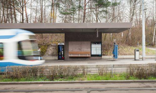 Tramwartedächer Milchbuck, Zürich