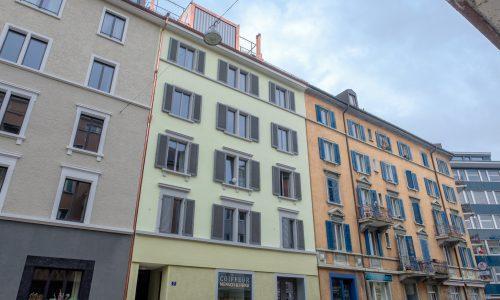 Mehrfamilienhaus Grüngasse 5, Zürich