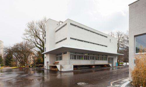 Stadtgärtnerei Zürich, Werkstatt und Lager