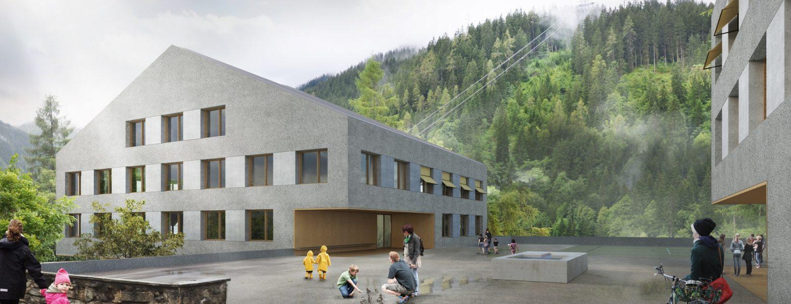 Neubau Schulanlage Klosters-Platz, Klosters